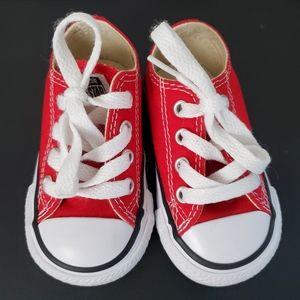 Converse • Baby Red Allstars